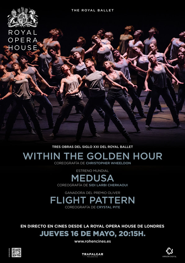 MIX BALLET (UN ESTRENO MUNDIAL) WITHIN THE GOLDEN HOUR NUEVO SIDI LARBI CHERKAOUI FLIGHT PATTERN