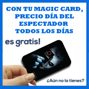 Con tu Magic Card, todos los días son días del espectador