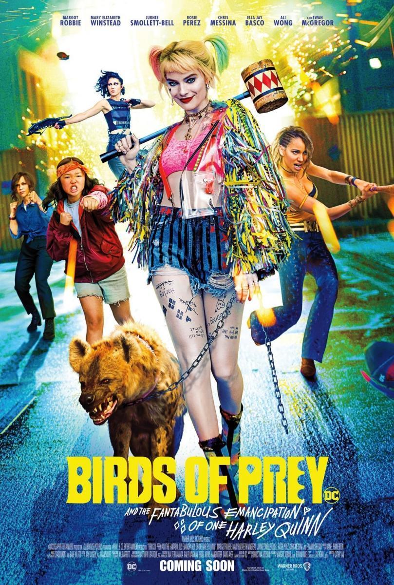 Aves de presa (y la fantabulosa emancipación de Harley Quinn) (V.O.S.E.)
