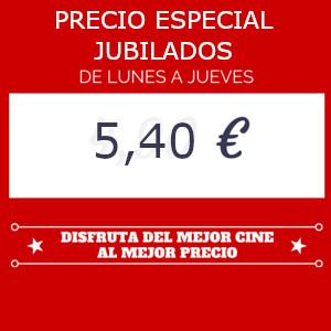 Precio especial para nuestros mayores