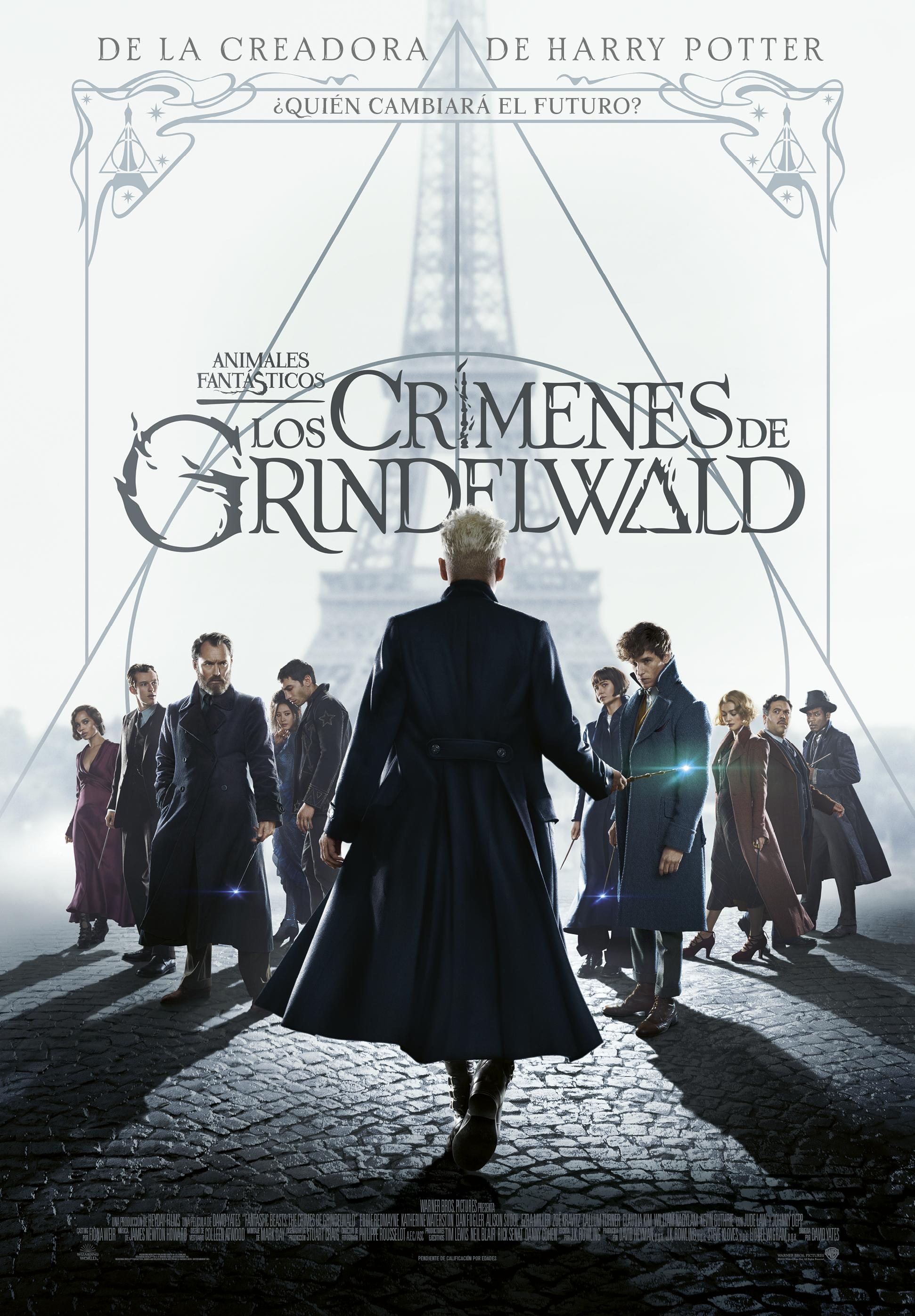 Animales fantásticos: Los crímenes de Grindelwald ( V.O.S.E.)