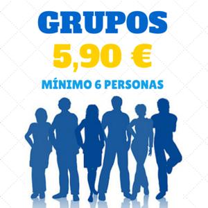 Ven al cine en grupo por 5,90 €